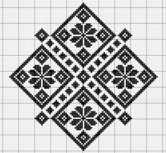 This Pin was discovered by Віт Biscornu Cross Stitch, Cross Stitch Charts, Cross Stitch Designs, Cross Stitch Embroidery, Embroidery Patterns, Cross Stitch Patterns, Crochet Cross, Filet Crochet, Appliques Au Crochet