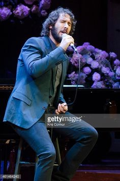 Singer Josh Groban performs during the 2015 'Standing Ovation For DC ...
