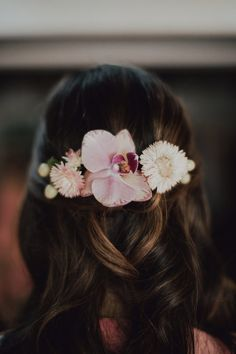 Orchid Hairpiece