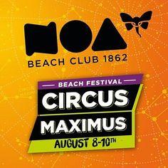 #Circusmaximus 08.-10.08.2016 #zrcebeach #croatia #IslandPag www.noa-beach.com by noabeachclub More about Zrce an Novalja http://zrce.eu