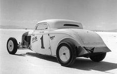 Bonneville Salt Flats So-Cal '34 Coupe :: Canepa Motorsports Museum