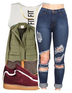 """2/26/16"" by xtaymaxlovesxmisfitx ❤ liked on Polyvore featuring Joie, Louis Vuitton and NIKE"