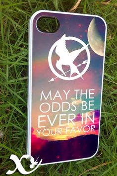 Hunger Games quote     iPhone 4/4s/5/5c/5s Case  by KALIDORO, $15.00