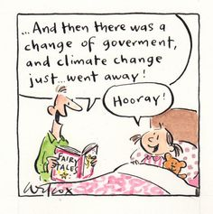 """Australian PM Tony Abbott guts climate commission and carbon tax because """"Climate change ~ is absolute crap"""""""