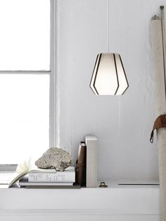 Lullaby by Fritz Hansen is a pendant lamp with eine Hängeleuchte mit recognition value.The memorable pentagonal shape makes the lamp which is av Fritz Hansen, Cool Lighting, Lighting Design, Lighting Stores, Lighting Online, Interior Lighting, Interior Styling, Scandinavian Lamps, Berlin Design