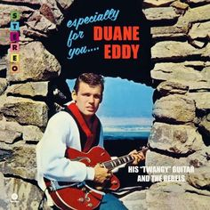 """Duane Eddy & His """"Twangy"""" Guitar And The Rebels - Especially For You (Vinyl, LP, Album) at Discogs The Secret Seven, Duane Eddy, 50s Music, The Ventures, Lp Cover, Cover Art, Music Album Covers, Vinyl Labels, Rhythm And Blues"""