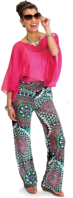 Palazzo pants from Howard's are fantastic! Where comfort meets fashion :-)