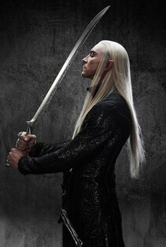 Good gravy, will the new gorgeous Thranduil photos ever stop appearing? <3