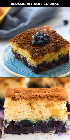 Blueberry coffee cake is an old-fashioned favorite is moist and delicious, loaded with fresh, juicy Blueberry Desserts, Chocolate Desserts, Blueberry Cake, Good Macaroni And Cheese Recipe, Chocolate Cake Recipe Videos, Coffee Cake, Hot Coffee, Granny's Recipe, Healthy Sweet Snacks