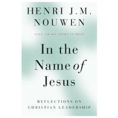 """The Christians leaders of the future have to be theologians, persons who know the heart of God and are trained--through prayer, study, and careful analysis--to manifest the divine event of God's saving work in the midst of many seemingly random events of their time."""
