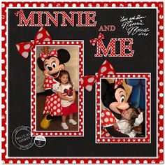 Minnie - MouseScrappers.com