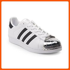 99e3394b1b97ad Adidas Originals Women's Superstar W Fashion Sneaker (Womens 10, White  Silver Toe 6310)