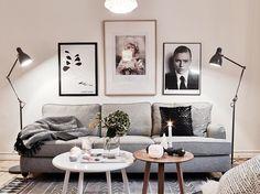Comment donner une touche scandinave à votre salon // Hëllø Blogzine www.hello-hello.fr