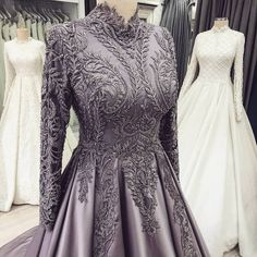 New baby hochzeitskleid mode Hijab Prom Dress, Hijab Evening Dress, Muslim Dress, Dress Outfits, Fashion Dresses, Indian Wedding Gowns, Indian Gowns Dresses, Event Dresses, Engagement Party Dresses