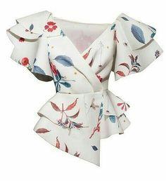 Блузка Идеи для вдохновения #шитье #выкройки #моделирование #идеи #фасоны #блузка