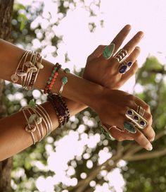Jewelry Bangles, Bracelets, Arm Party, Jewelry, Clothes, Fashion, Zapatos, Accessories, Charm Bracelets