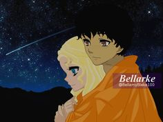 Bellarke: Shooting star by BellamyBlake100