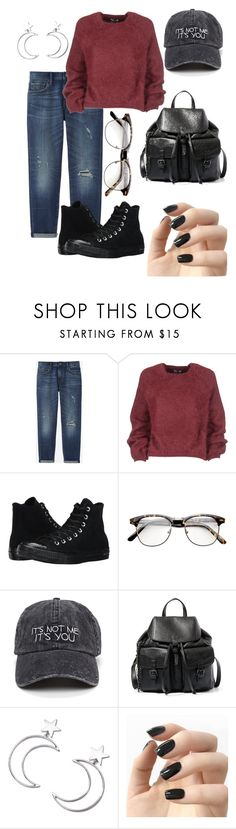 """""""10 am"""" by lauradab on Polyvore featuring Mode, Uniqlo, Tom Ford, Converse, Steve Madden, Ana Accessories und Incoco"""