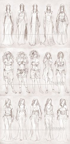 Inavesu Clothing - The girls by NadezhdaVasile.deviantart.com on @deviantART
