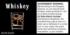 This Is What It Would Look Like If Alcohol Had Honest Warning Labels