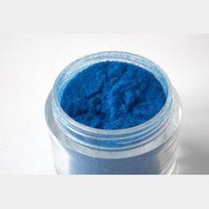 Polvere di Velluto Blu Chiaro - Decori per unghie - In vendita su: http://www.trucconatura.com Disponibile: € 3,90