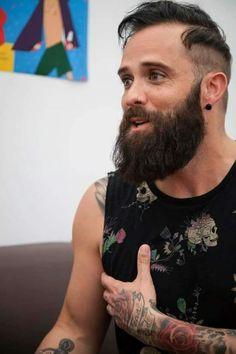 loving the beard!! XD                                                                                                                                                     More