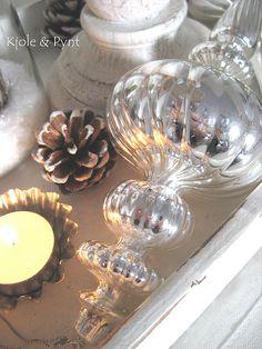 Christmas Décor . Mercury Ornament