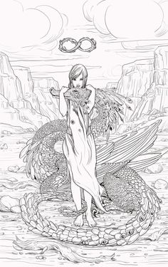 Half pixie & dragon