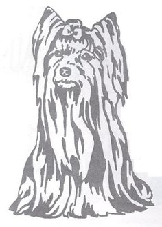 Dog Rubber Stamp  Yorkshire Terrier3I Bold Image Size 2 Wide X 3 Tall *** Be sure to check out this awesome product.