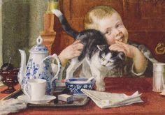 Painted by Cornelis Jetses --- (the pin via Aline Ruta)
