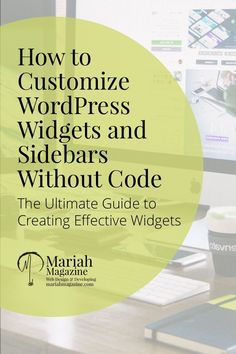 Want to customize and style your WordPress widgets separately? Now you can, without knowing any code. via @mariahmagazine