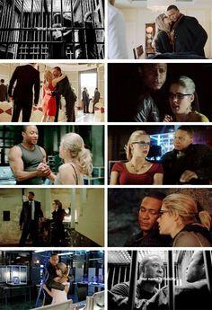 "#Arrow 4x10 ""Blood Debts"" -  #JohnDiggle #FelicitySmoak"