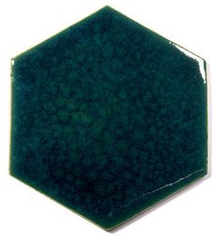Blue Ceramic Handmade Wall & Floor Tile - Hexagon, glaze - Venus