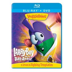 Veggie Tales - Larry Boy & the Bad Apple.  Micah is OBSESSED with Larry Boy!