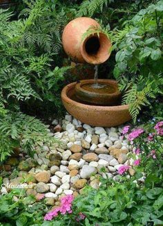 Fábrica de Idéias - Tudo em Paisagismo e Decoração: Fontes De Água