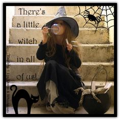 There s a little witch in all of us! Brujas De Halloween 246e732c73d