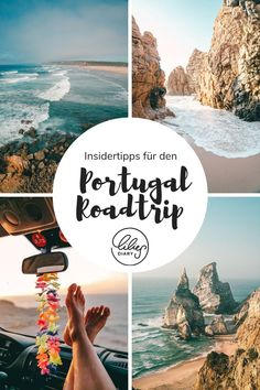 14 days Portugal road trip - from north to south What on . - 14 days Portugal road trip – from north to south What on one must not be missing? The best & Attractions for your Portugal road trip experience i - Europe Destinations, Europe Travel Tips, Travel Goals, Portugal Destinations, Cool Places To Visit, Places To Go, Portugal Travel Guide, Sites Touristiques, Reisen In Europa