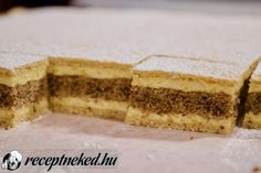 Érdekel a receptje? Kattints a képre! Küldte: Receptneked Hungarian Desserts, Tiramisu, Cheesecake, Ethnic Recipes, France, Dios, Cheesecakes, Tiramisu Cake, Cherry Cheesecake Shooters