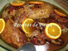 Pato assado com laranja acompanhado com arroz de grelos Bom Sucesso, foto 1 Portuguese Recipes, Portuguese Food, Pot Roast, Food Inspiration, Chicken Recipes, Food And Drink, Easy Meals, Yummy Food, Meat