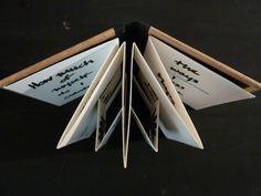 Handmade 1997 - Accordion style artist book