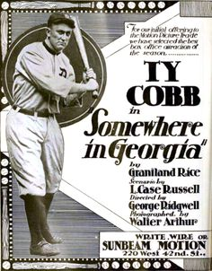 Ty Cobb was a bad actor. I mean, Ty Cobb was a bad actor—in the same way that 50 Cent […] Small Town Bank, Baseball Movies, Detroit Tigers, Georgia, Acting, Drama, Memes, Plays, Rice
