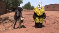 African Art: The Masks of the Gnoumou Family in Boni Perform, 2007 (+pla...