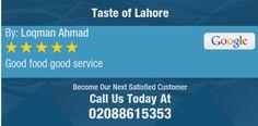 Good food good service