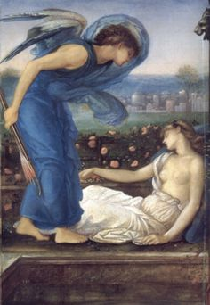 Cupid and Psyche Edward Burne Jones