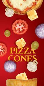 Sample Kit - Includes one of each size cone - 1,2 & 3 ounce cones plus 3 disposable oven stands. Ready to order? Place your first pizza cone order…