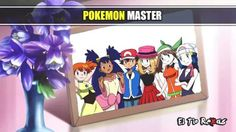 Beautiful ♡ Ash and all of his girl friends (all of the Pokémon Girls) ^_^ ^.^ ♡ I give good credit to whoever made this