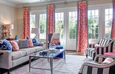 Living Room Grey, Living Room Furniture, Living Room Decor, Hooker Furniture, Interior Design Living Room, Living Room Designs, Transitional Living Rooms, Curtains Living, Houses