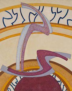 Colección en línea | František Kupka. Construcción Nº 2. 1952-1953 - Museo Guggenheim