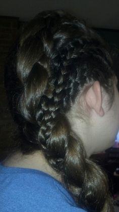Celtic Braids.... Playing around with braids...