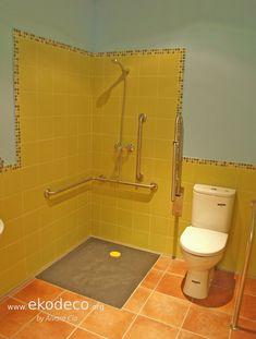 Baño adaptado, itinerario accesible. Sink, Home Decor, Interior Design, Sink Tops, Vessel Sink, Decoration Home, Room Decor, Vanity Basin, Sinks